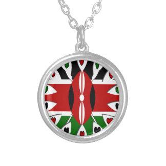 Collier Coeurs du Kenya