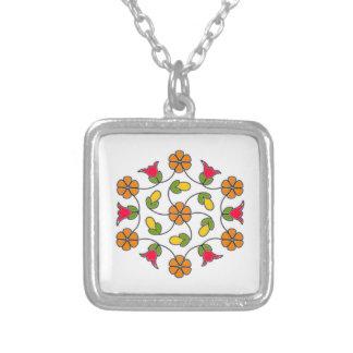Collier Collier-Fleur carrée Series#63