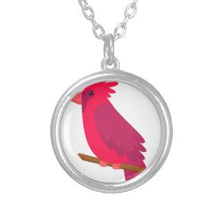 Collier cool coloré de conception d'art d'oiseau