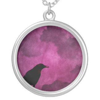 Collier Copies éffrayantes de Halloween Raven