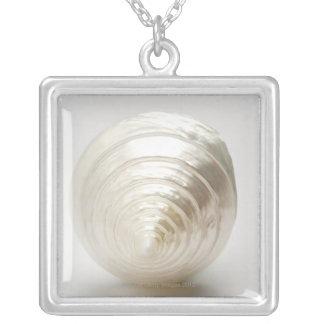 Collier Coquillage en spirale simple