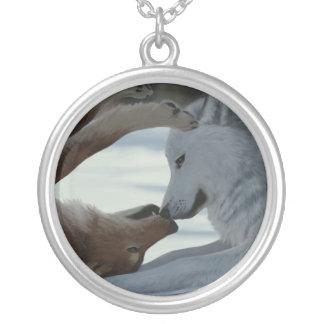 Collier Couples doux de loup