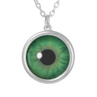 Collier Coutume fraîche de globe oculaire d'iris d'oeil