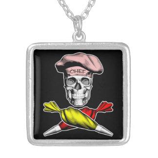 Collier Crâne de chef de pâtisserie
