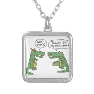 Collier Crocodile drôle