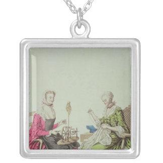 Collier Dames tournant et cousant, c.1765
