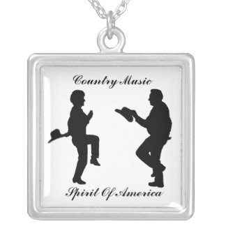 COLLIER DANCE-COUNTRY MUSIC-NECKLACE