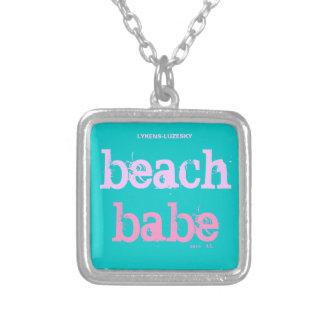 collier de bébé de plage