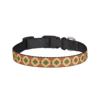 Collier de chien avec la conception aztèque