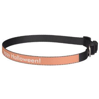 Collier de chien de Halloween