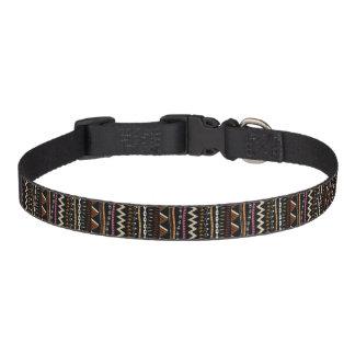 Collier de chien ethnique de conception de motif