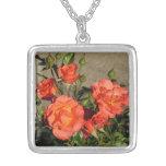 Collier de roses de cathédrale d'abricot