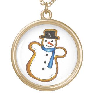Collier de vacances d'hiver de biscuit de Noël de