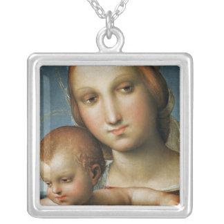 Collier Détail de <Virgin and Child> Attribué à Rapha