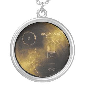 Collier Disque d'or de Voyager