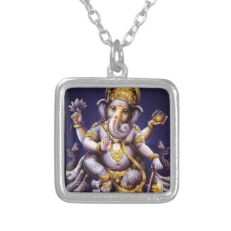 Collier Divinité indoue d'éléphant asiatique de Ganesh