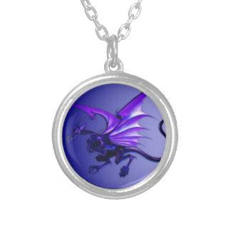 Collier Dragon bleu