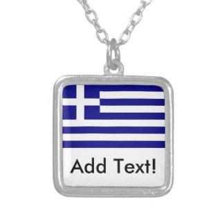 Collier Drapeau de la Grèce