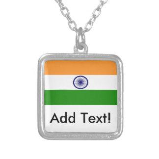 Collier Drapeau de l'Inde