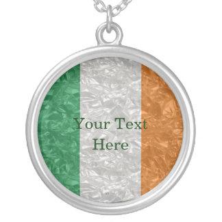 Collier Drapeau de l'Irlande - froissé