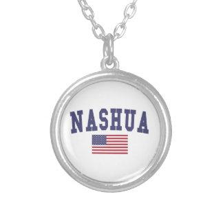 Collier Drapeau de Nashua USA