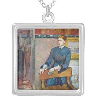 Collier Edgar Degas | Helene Rouart dans l'étude de son
