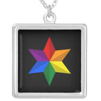 Collier Étoile de gay pride