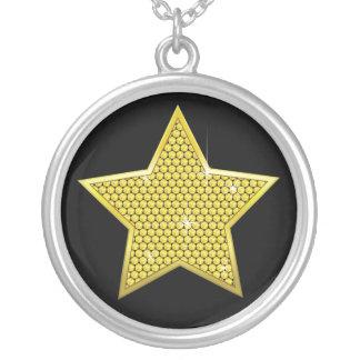 Collier Étoile de scintillement d'or