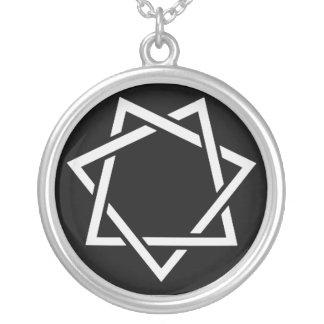 Collier Étoile dirigée par sept