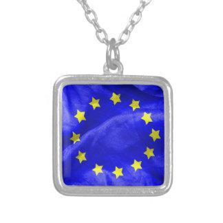Collier Euro texture de drapeau