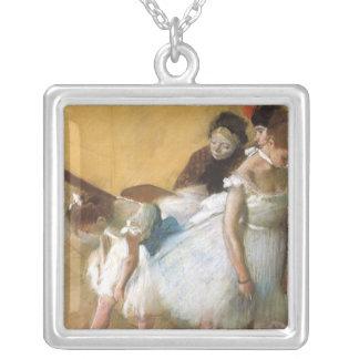 Collier Examen de danse par Edgar Degas, ballet vintage