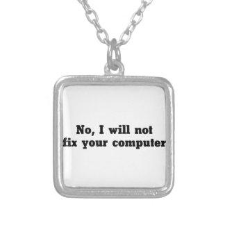 Collier Fixez votre ordinateur