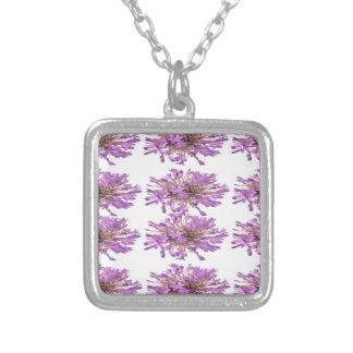 Collier Fleur de LILLY de LIS - Voilet violet pourpre