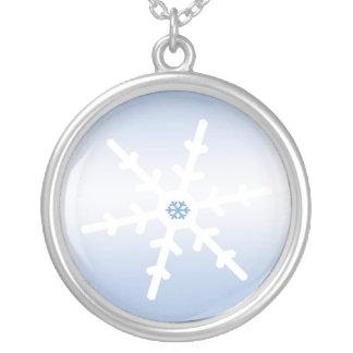 Collier Flocon de neige d'hiver