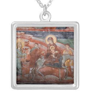 Collier Fresques de l'église serbe du 14ème siècle,