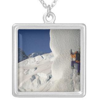 Collier Glacez l'escalade sur le glacier de Tasman