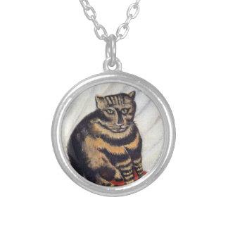 Collier Henri Rousseau - le chat de tigre (Le Chat Tigre)