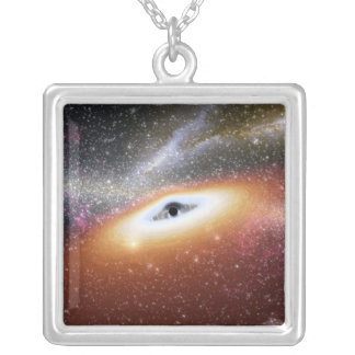 Collier Illustration d'un trou noir supermassive