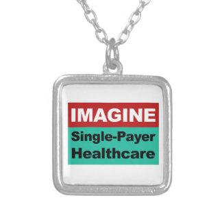 Collier Imaginez les soins de santé simples de débiteur