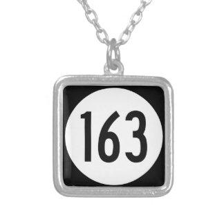 Collier Itinéraire 163 d'état de l'Iowa