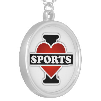 Collier J'aime des sports