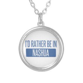 Collier Je serais plutôt à Nashua