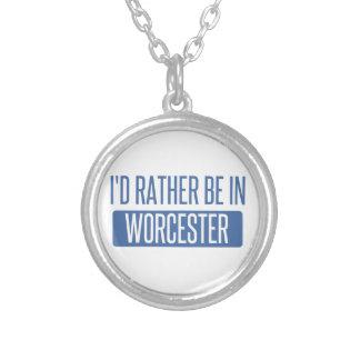 Collier Je serais plutôt à Worcester