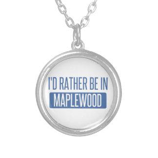 Collier Je serais plutôt dans le Maplewood