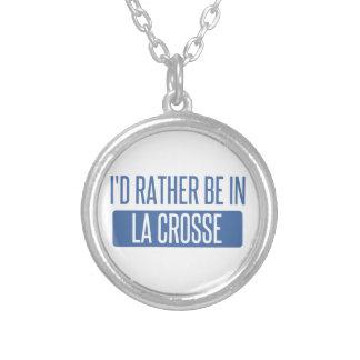 Collier Je serais plutôt en La Crosse