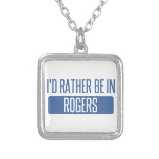 Collier Je serais plutôt en Rogers