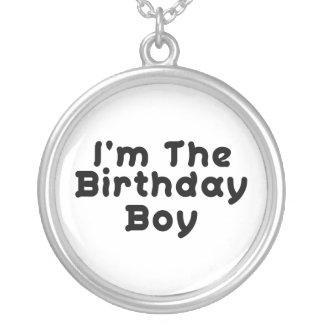 Collier Je suis le garçon d'anniversaire