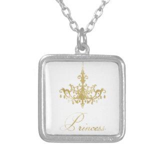 Collier Jolie princesse Necklace Gold Chandelier