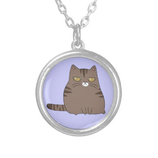 Collier Kitty grincheux