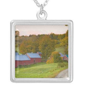 Collier La ferme de Jenne dans Woodstock, Vermont. Chute